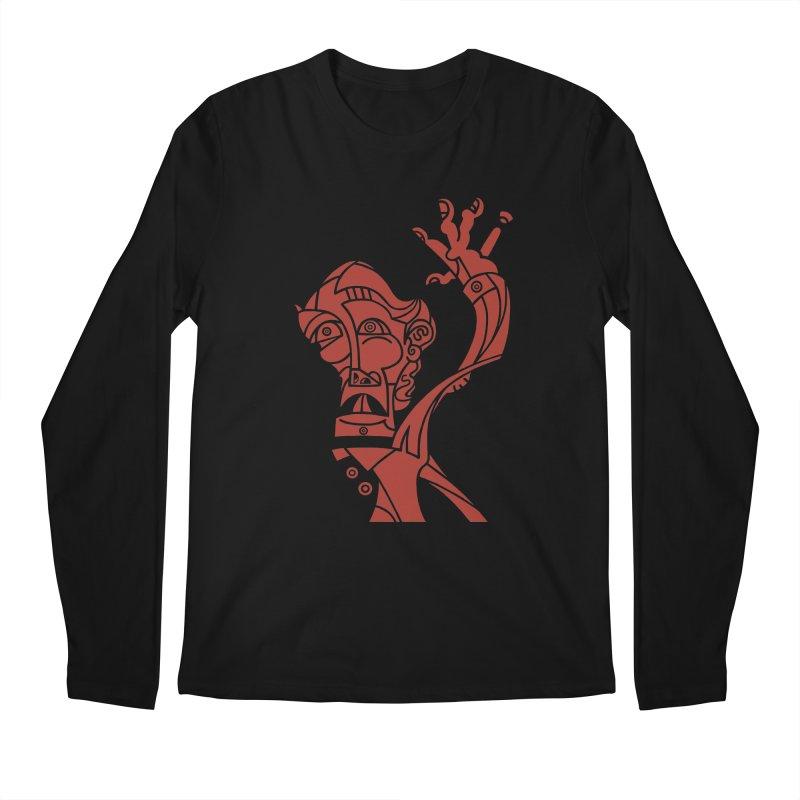 BRAVO ROJO Men's Regular Longsleeve T-Shirt by BRAVO's Shop