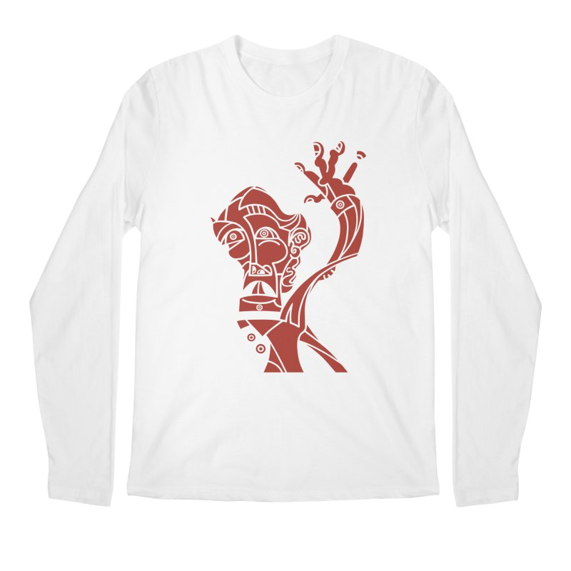 BRAVO ROJO Men's Regular Longsleeve T-Shirt by BRAVO's Shop