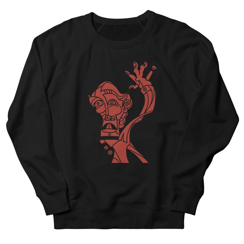 BRAVO ROJO Men's French Terry Sweatshirt by BRAVO's Shop