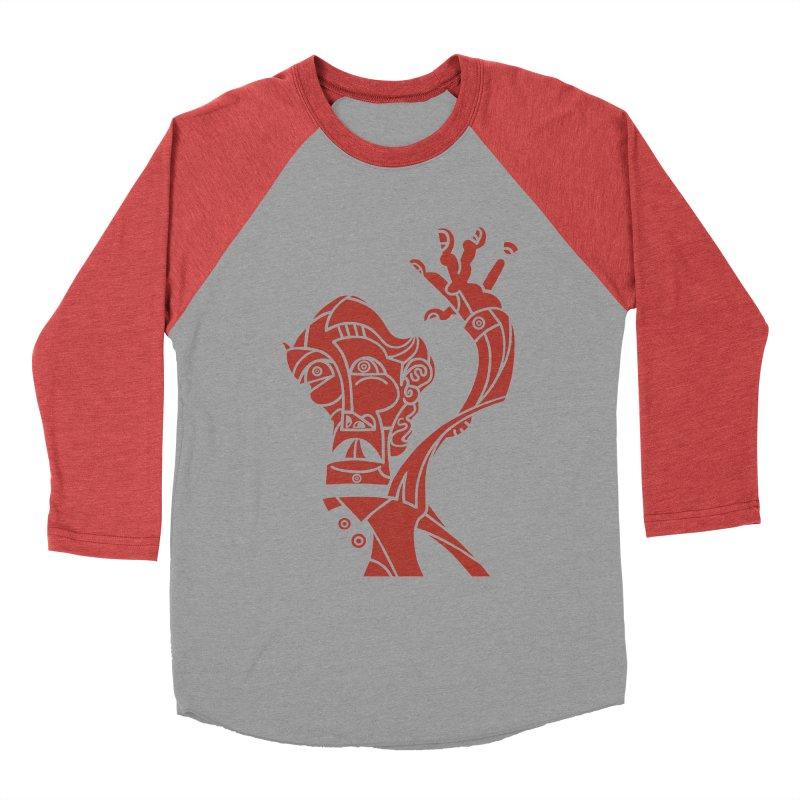 BRAVO ROJO Women's Baseball Triblend Longsleeve T-Shirt by BRAVO's Shop