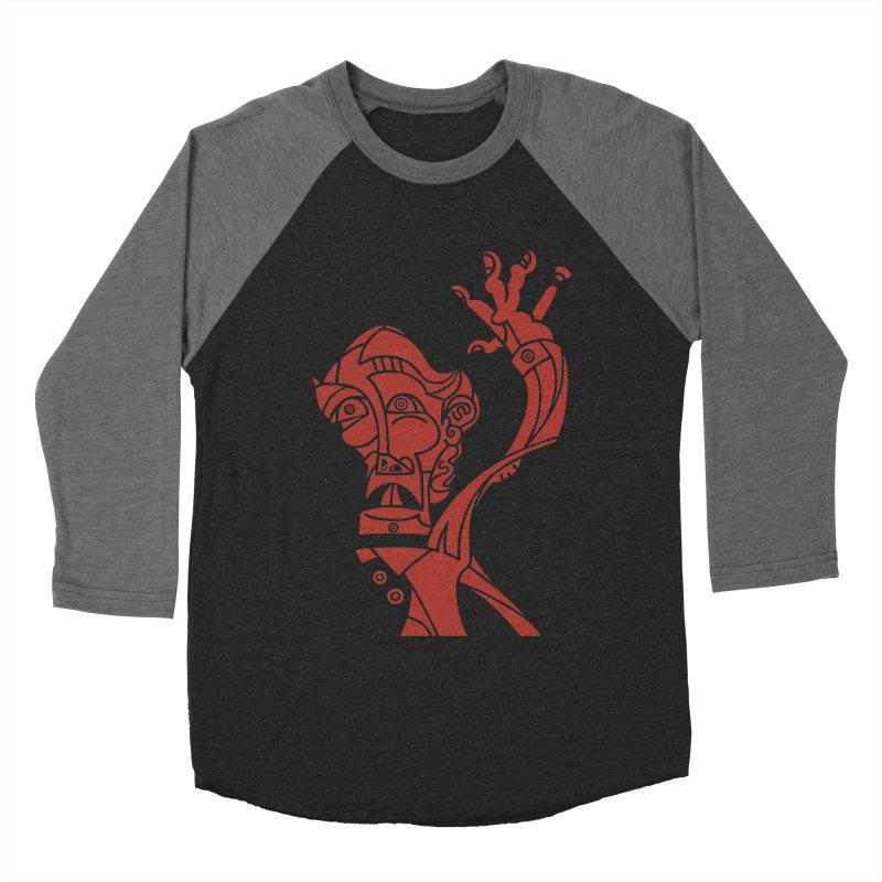 BRAVO ROJO Men's Baseball Triblend Longsleeve T-Shirt by BRAVO's Shop