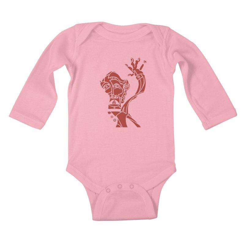 BRAVO ROJO Kids Baby Longsleeve Bodysuit by BRAVO's Shop
