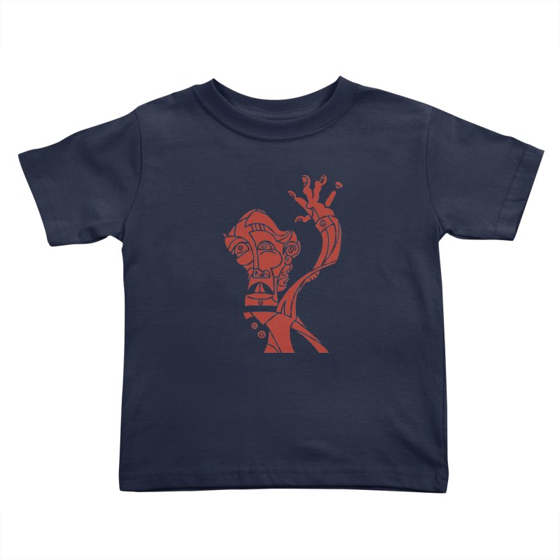 BRAVO ROJO Kids Toddler T-Shirt by BRAVO's Shop