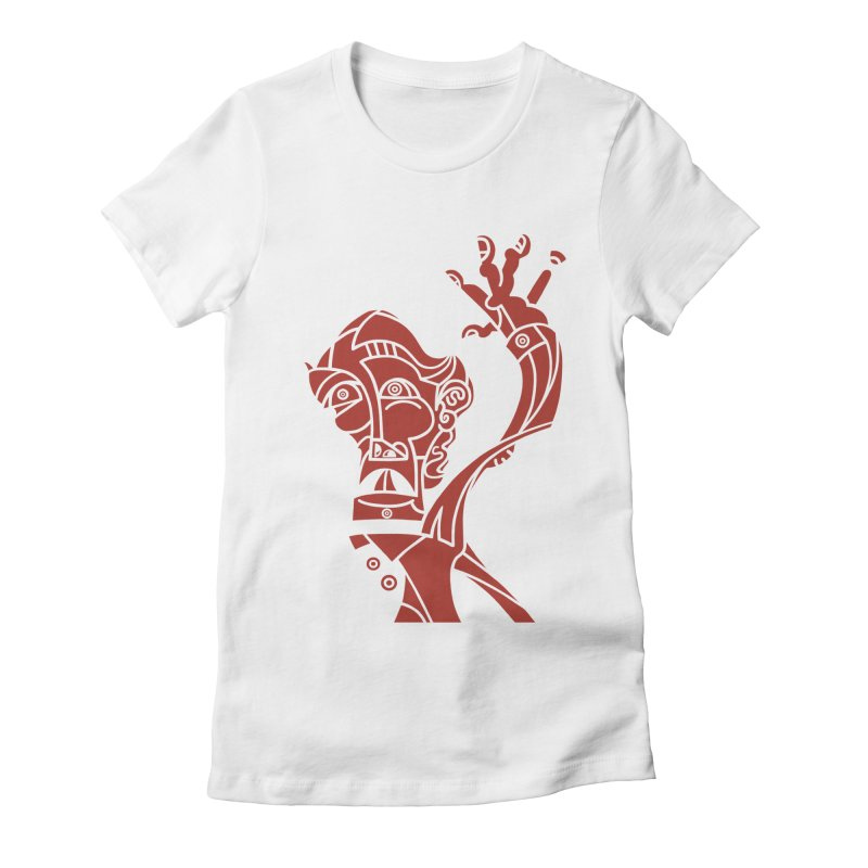 BRAVO ROJO Women's Fitted T-Shirt by BRAVO's Shop