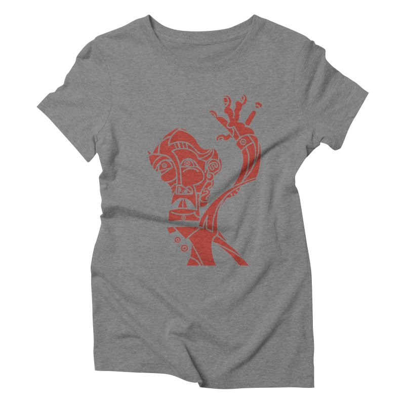 BRAVO ROJO Women's Triblend T-Shirt by BRAVO's Shop