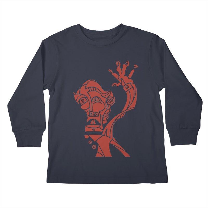 BRAVO ROJO Kids Longsleeve T-Shirt by BRAVO's Shop
