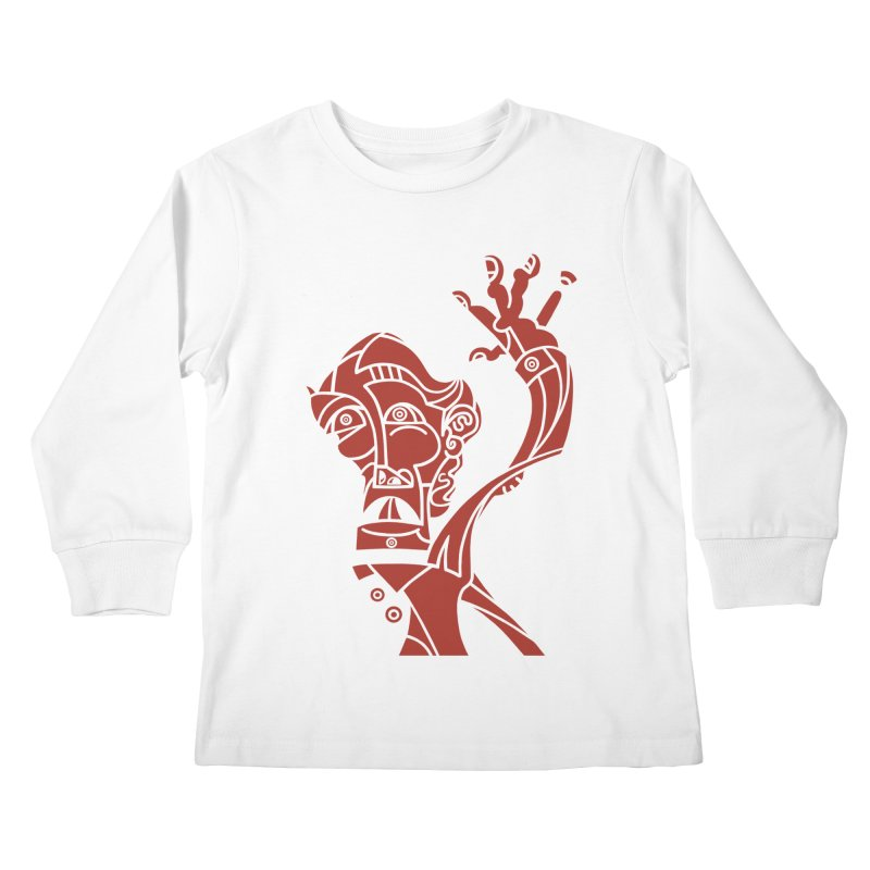BRAVO ROJO Kids Longsleeve T-Shirt by BRAVO's Shop
