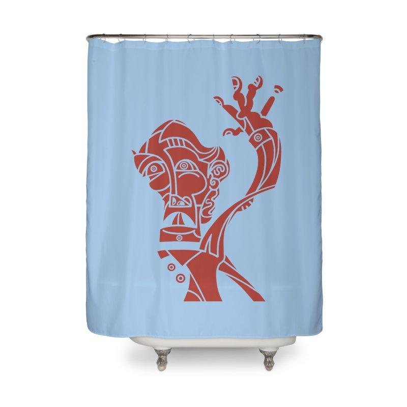 BRAVO ROJO Home Shower Curtain by BRAVO's Shop