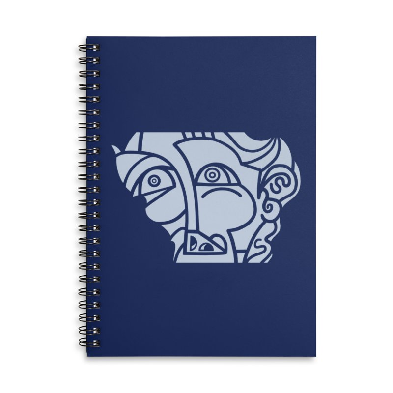 BRAVO Close Accessories Lined Spiral Notebook by BRAVO's Shop