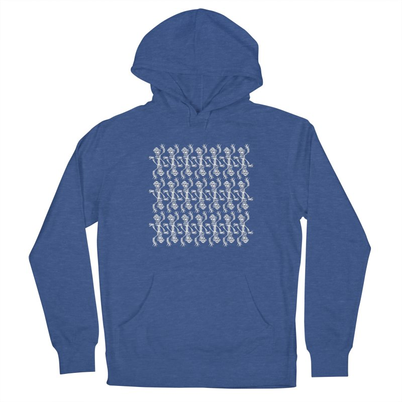 BRAVO PATTERN Men's French Terry Pullover Hoody by BRAVO's Shop