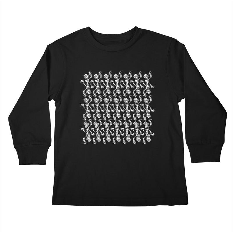 BRAVO PATTERN Kids Longsleeve T-Shirt by BRAVO's Shop