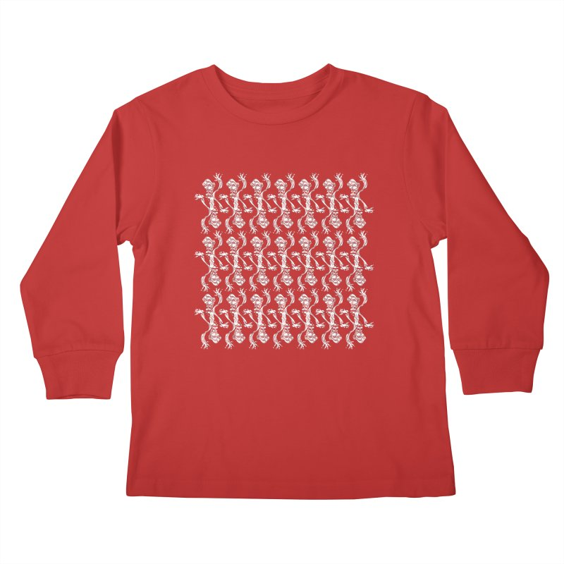 BRAVO PATTERN Kids Longsleeve T-Shirt by BRAVO's Shop