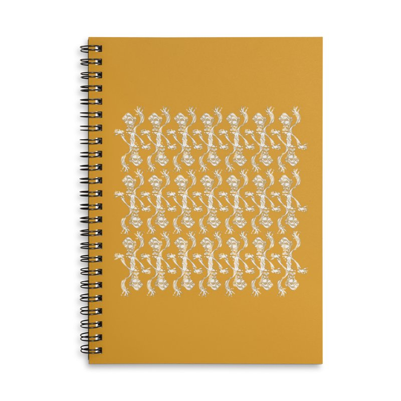 BRAVO PATTERN Accessories Lined Spiral Notebook by BRAVO's Shop