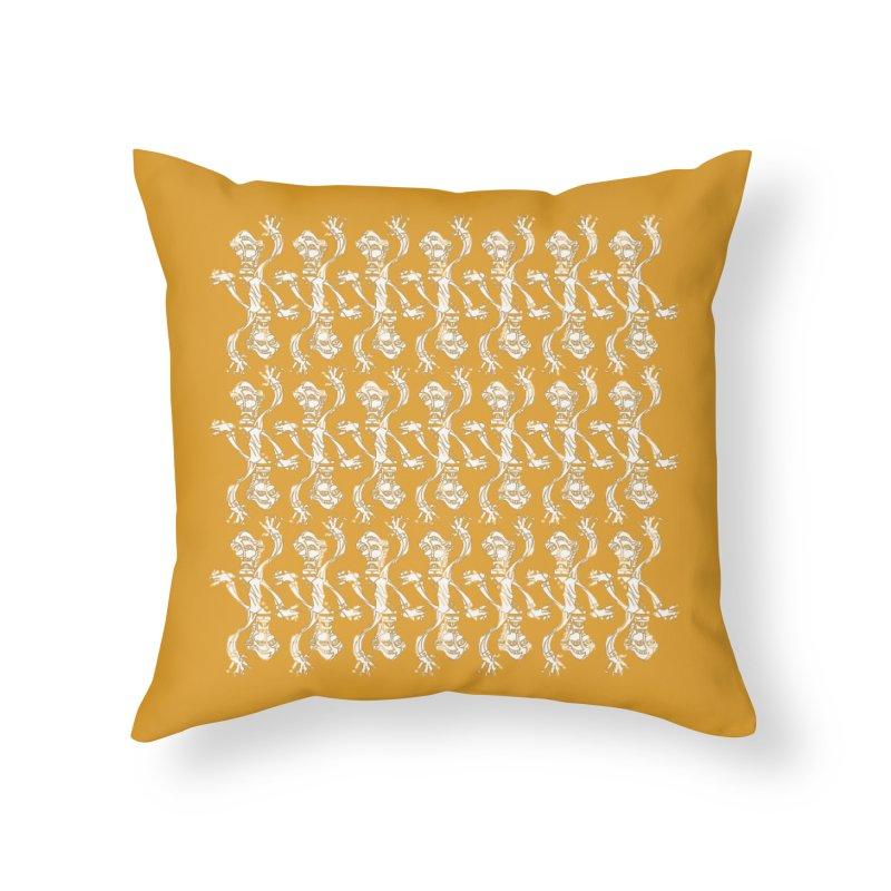 BRAVO PATTERN Home Throw Pillow by BRAVO's Shop