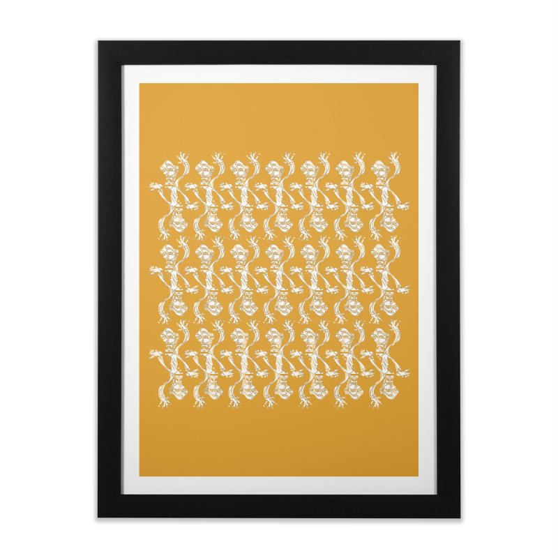 BRAVO PATTERN Home Framed Fine Art Print by BRAVO's Shop