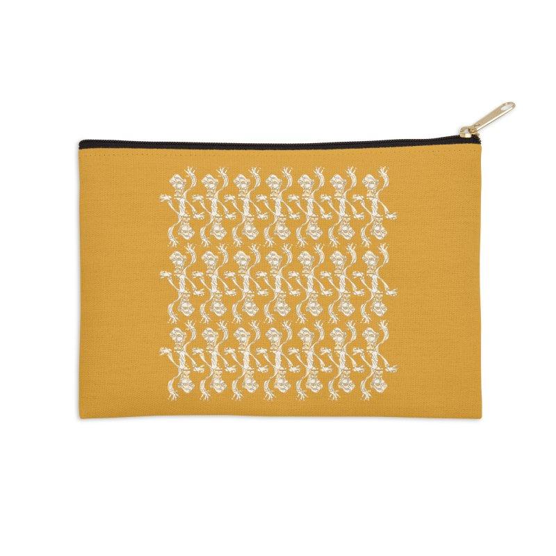 BRAVO PATTERN Accessories Zip Pouch by BRAVO's Shop