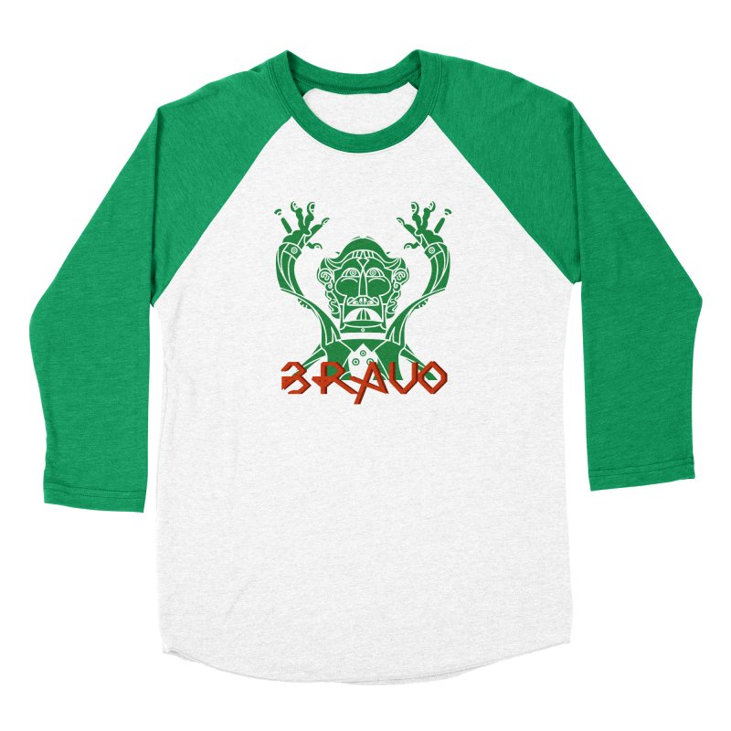 BRAVO VerDoble Women's Baseball Triblend Longsleeve T-Shirt by BRAVO's Shop