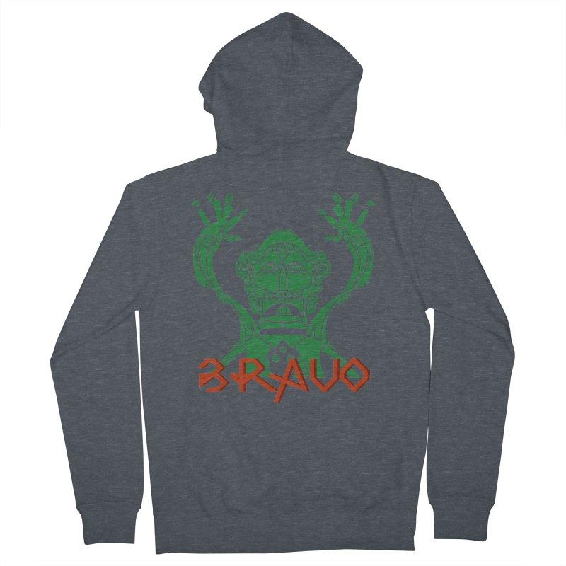 BRAVO VerDoble Women's French Terry Zip-Up Hoody by BRAVO's Shop