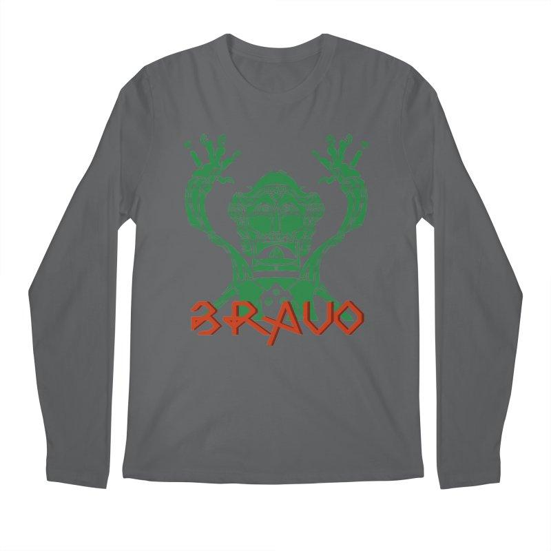 BRAVO VerDoble Men's Regular Longsleeve T-Shirt by BRAVO's Shop