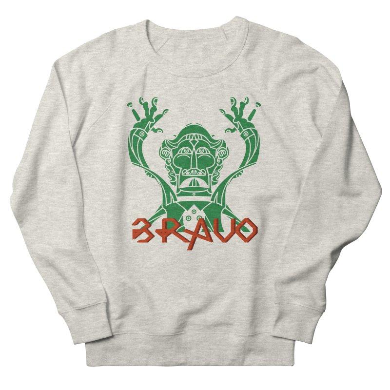 BRAVO VerDoble Men's French Terry Sweatshirt by BRAVO's Shop