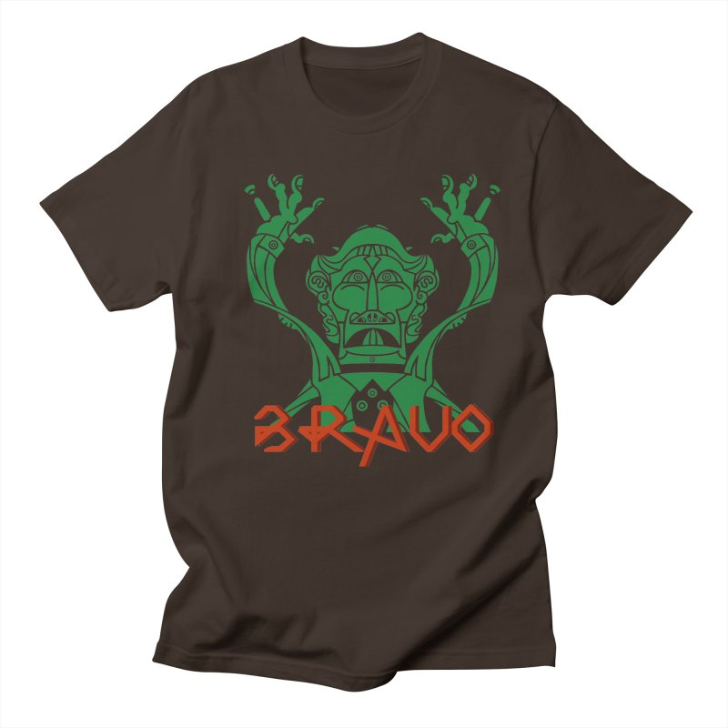 BRAVO VerDoble Men's Regular T-Shirt by BRAVO's Shop