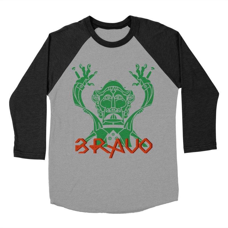 BRAVO VerDoble Men's Baseball Triblend Longsleeve T-Shirt by BRAVO's Shop
