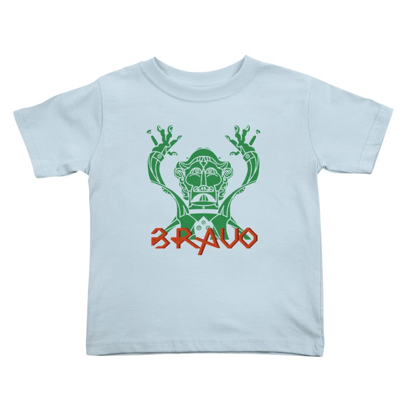 BRAVO VerDoble Kids Toddler T-Shirt by BRAVO's Shop