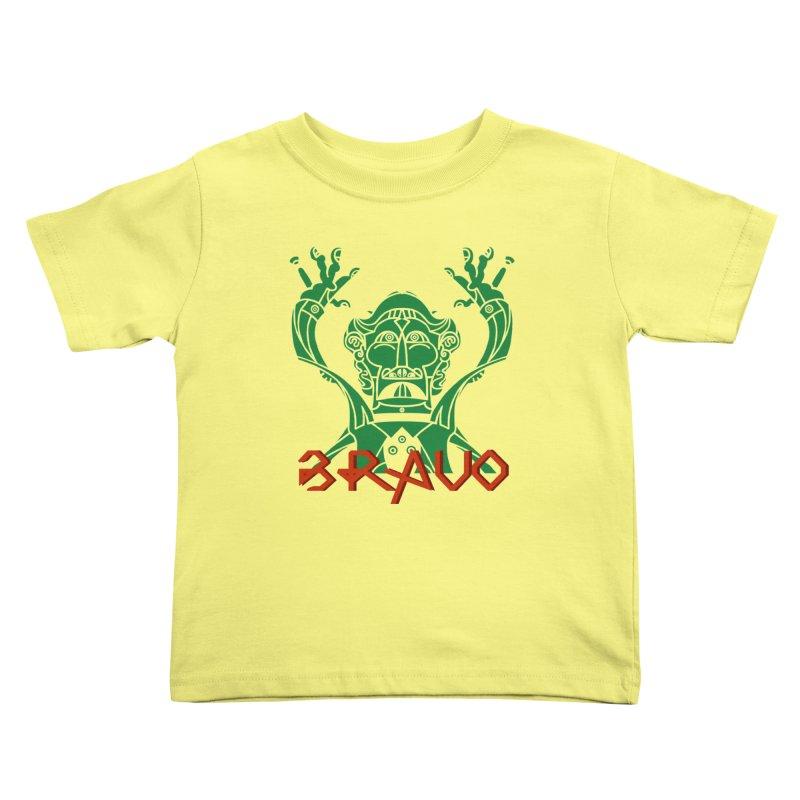 BRAVO VerDoble Kids Toddler T-Shirt by BRAVO's Shop