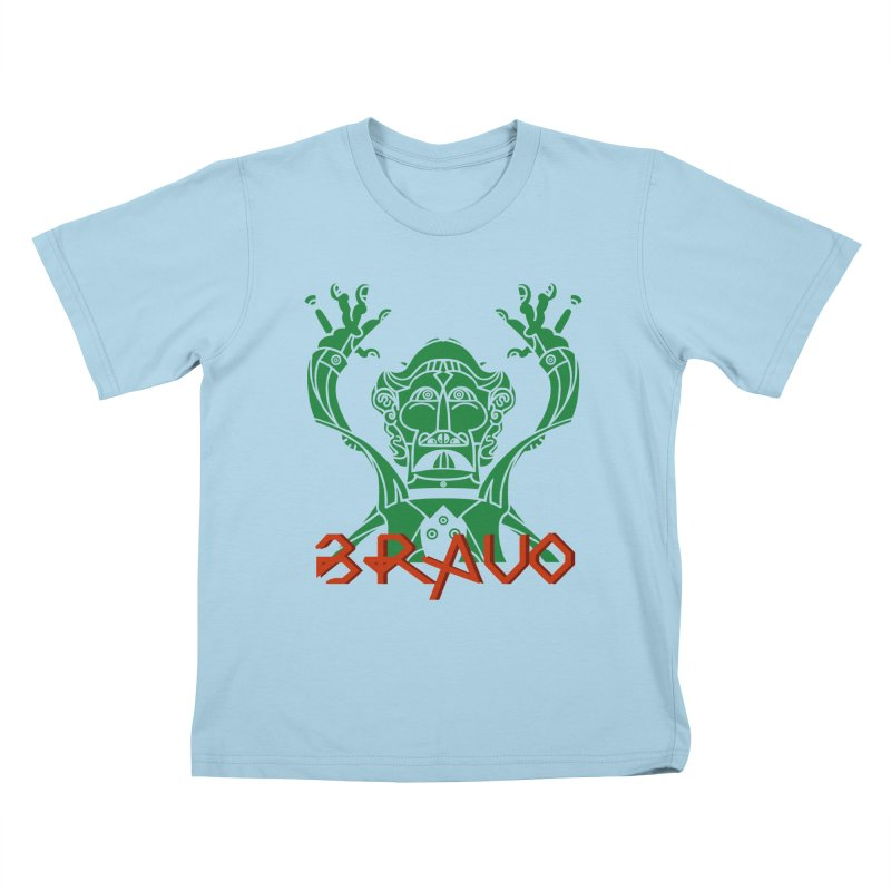 BRAVO VerDoble Kids T-Shirt by BRAVO's Shop
