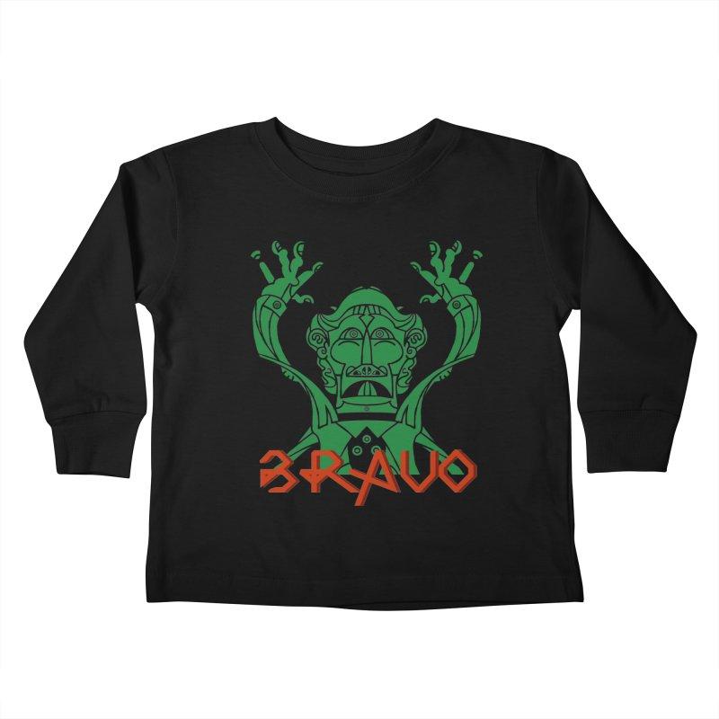 BRAVO VerDoble Kids Toddler Longsleeve T-Shirt by BRAVO's Shop