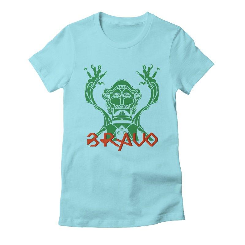 BRAVO VerDoble Women's Fitted T-Shirt by BRAVO's Shop