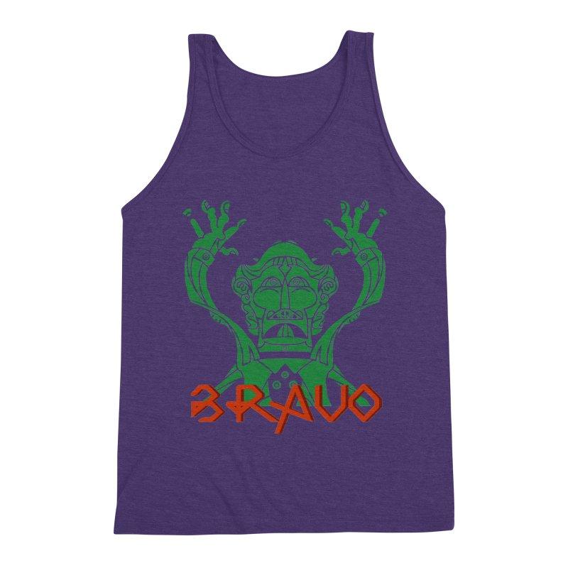 BRAVO VerDoble Men's Triblend Tank by BRAVO's Shop