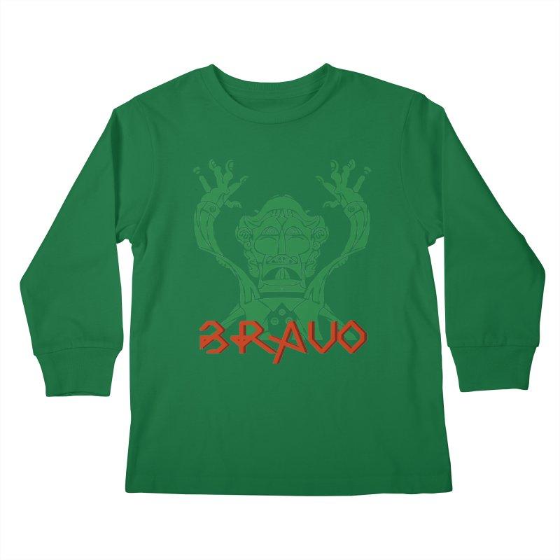 BRAVO VerDoble Kids Longsleeve T-Shirt by BRAVO's Shop