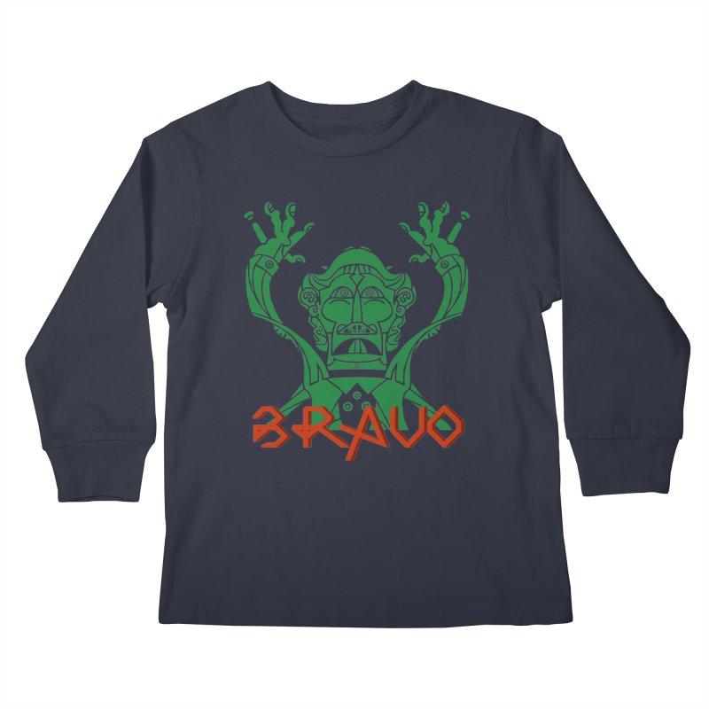BRAVO VerDoble Kids Longsleeve T-Shirt by BRAVO's Shop