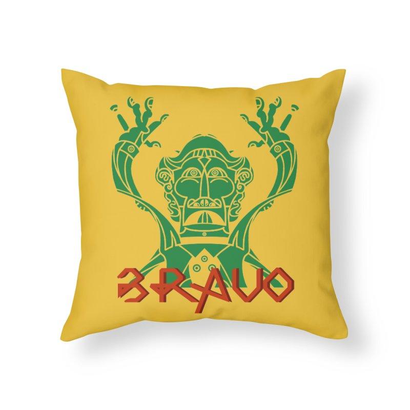 BRAVO VerDoble Home Throw Pillow by BRAVO's Shop