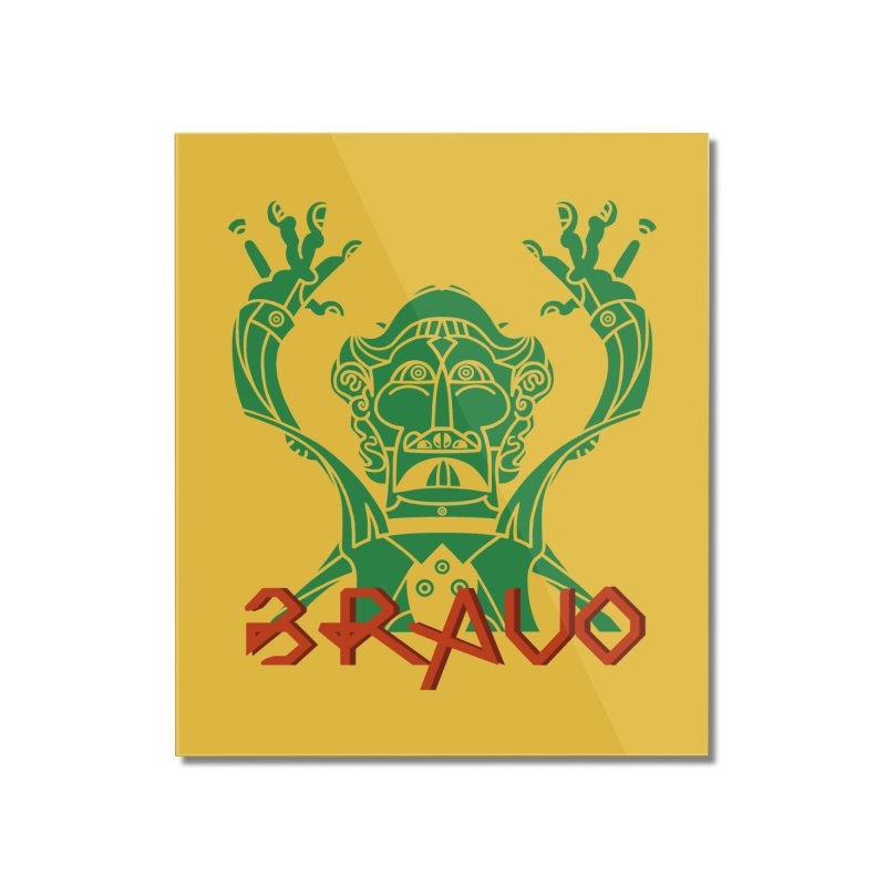 BRAVO VerDoble Home Mounted Acrylic Print by BRAVO's Shop