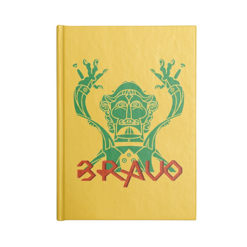 BRAVO VerDoble Accessories Blank Journal Notebook by BRAVO's Shop