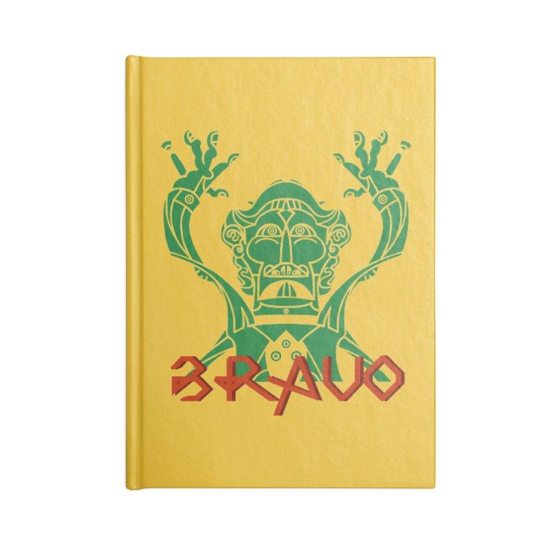 BRAVO VerDoble Accessories Lined Journal Notebook by BRAVO's Shop