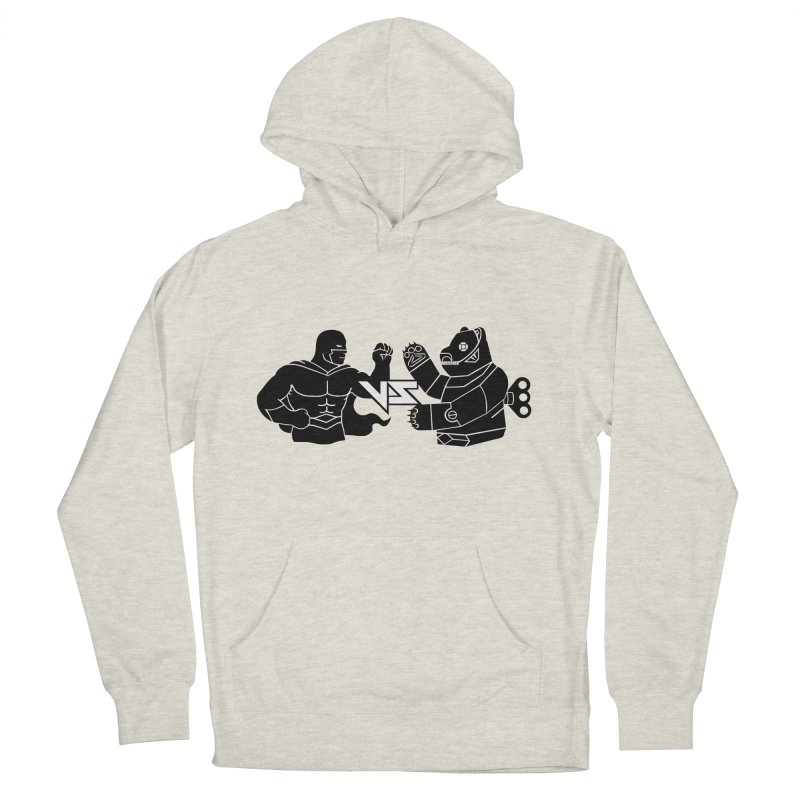 Comics VS Toys Men's French Terry Pullover Hoody by BRAVO's Shop