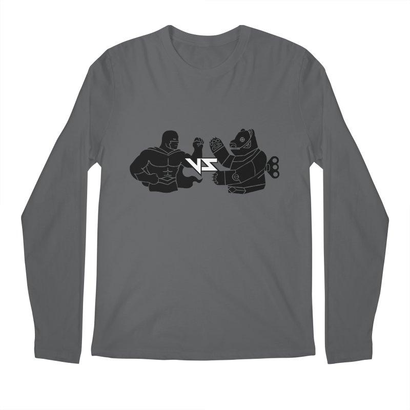 Comics VS Toys Men's Regular Longsleeve T-Shirt by BRAVO's Shop