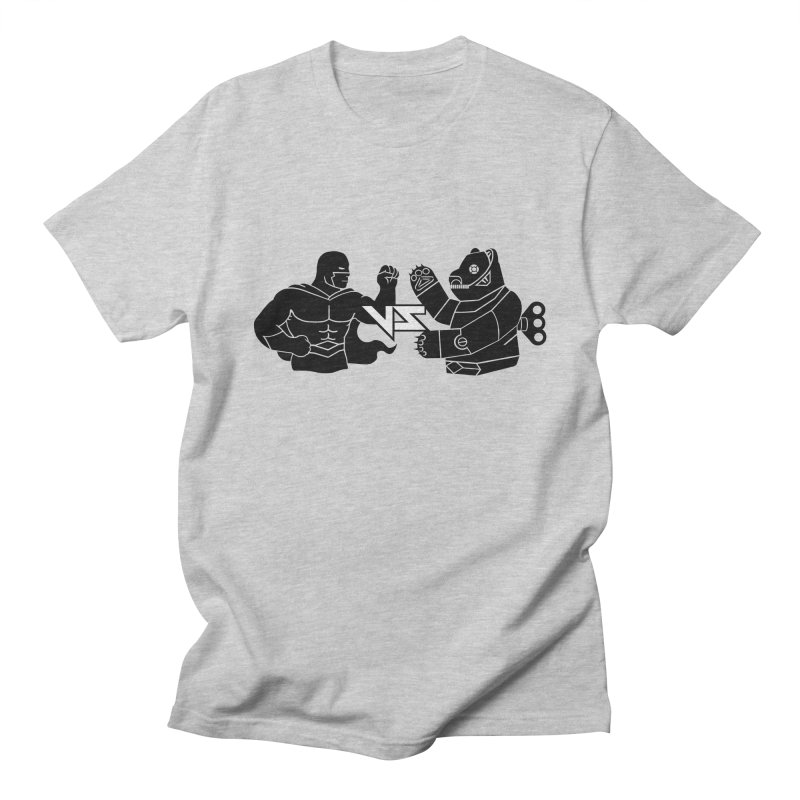 Comics VS Toys Men's Regular T-Shirt by BRAVO's Shop