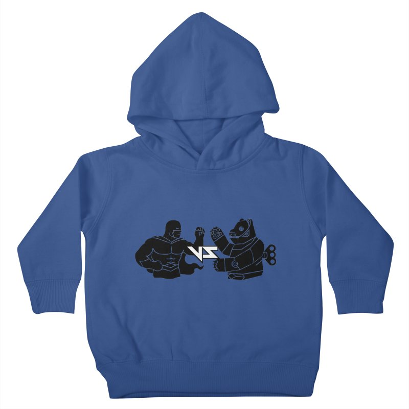 Comics VS Toys Kids Toddler Pullover Hoody by BRAVO's Shop