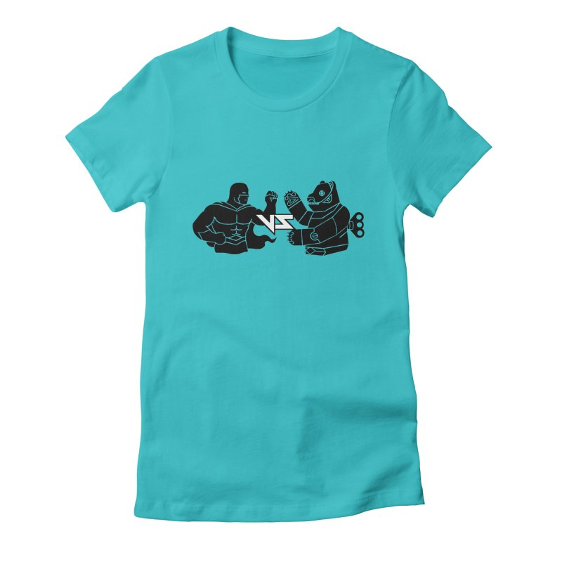 Comics VS Toys Women's Fitted T-Shirt by BRAVO's Shop