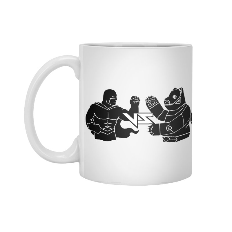 Comics VS Toys Accessories Standard Mug by BRAVO's Shop