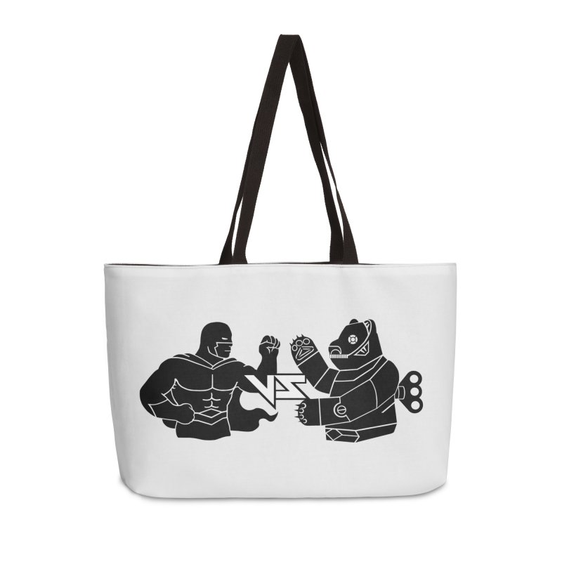 Comics VS Toys Accessories Weekender Bag Bag by BRAVO's Shop