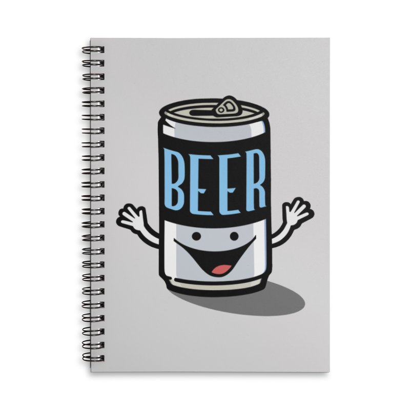 Hoppy! Accessories Lined Spiral Notebook by BRAVO's Shop