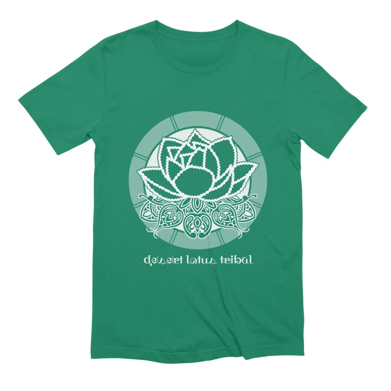 Desert Lotus Tribal Men's Extra Soft T-Shirt by BRAVO's Shop