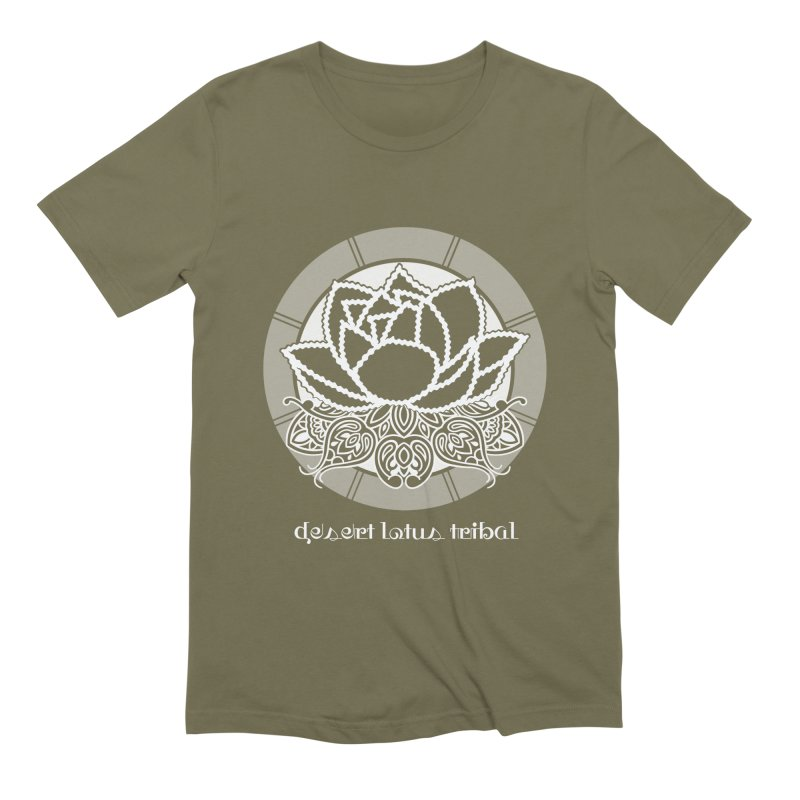 Desert Lotus Tribal Men's Extra Soft T-Shirt by BRAVO's Shop