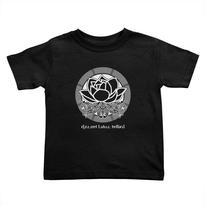 Desert Lotus Tribal Kids Toddler T-Shirt by BRAVO's Shop
