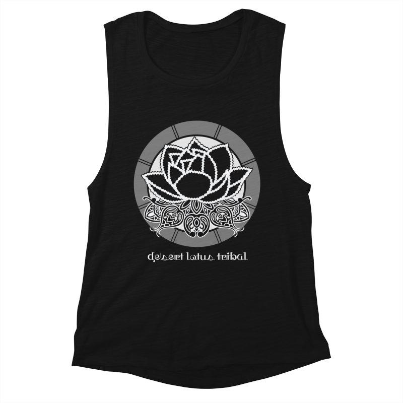 Desert Lotus Tribal Women's Tank by BRAVO's Shop